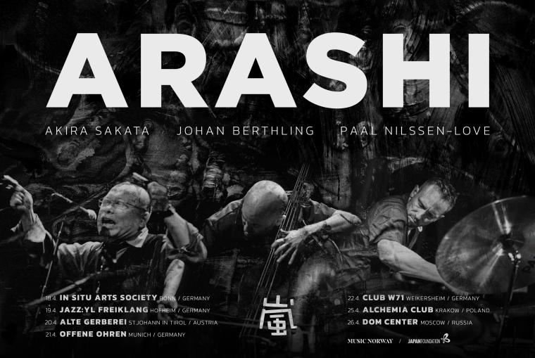 Kato Bookbird | Arashi returns to Europe in April