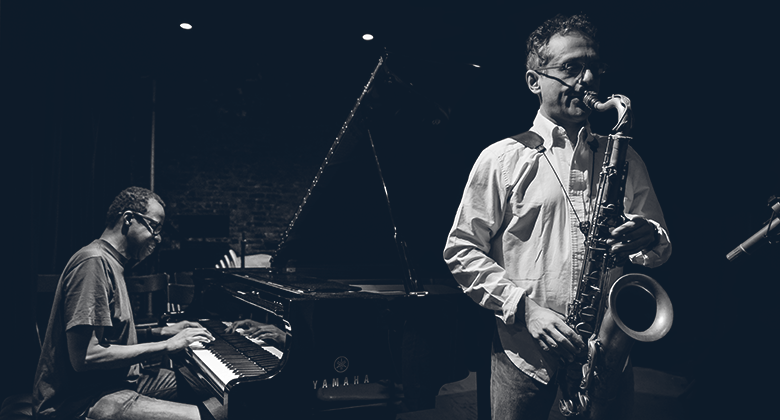 Ivo Perelman & Matthew Shipp, The Stone, Photo by Peter Gannushkin